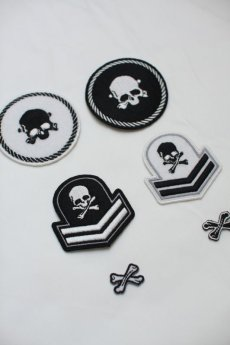 画像5: SKULL PATCH SET (5)