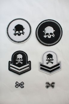 画像3: SKULL PATCH SET (3)