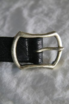 画像3: incarnation / インカネーション /  31512-8331 BUFFALO LEATHER BELT 1.5'BUCKLE (3)