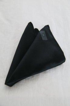 画像3: Black Bird Tailor /  BN-4101 / LETTEL LEAF / SOLID TIE & CHIEF (3)