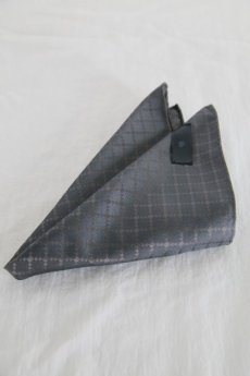 画像3: Black Bird Tailor / BN-4102 / PINION / GEOMETRIC TIE & CHIEF (3)