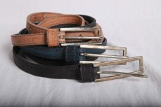 画像6: incarnation / インカネーション / 31713R-8645 HORSE LEATHER BELT BUCKLE SQ #2 0.75'' (6)