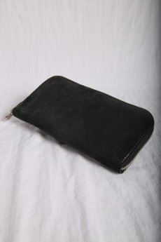 画像1: incarnation / インカネーション /  31713VL-880 HORSE BUTT LEATHER WALLET SQ ZIP (1)