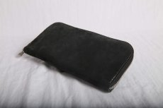画像2: incarnation / インカネーション /  31713VL-880 HORSE BUTT LEATHER WALLET SQ ZIP (2)