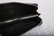 画像5: incarnation / インカネーション /  31713VL-880 HORSE BUTT LEATHER WALLET SQ ZIP (5)