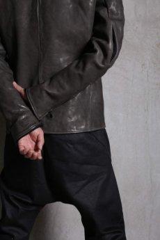 画像16: LINEA_F by incarnation インカネーション /  MMXVIII-41277 Raglan darts shoulder zip front blouson lined (16)