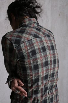 画像11: incarnation / インカネーション / 11873-3352 COTTON80% POLYESTER20% SHIRT BD #2 UNLINED (11)