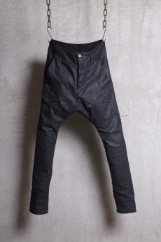 画像1: incarnation / インカネーション / 11882-6412 COTTON93% RUBBER5% ELASTANE2% PANTS SARROUEL CARGO (1)