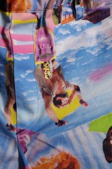 画像7: JUVENILE HALL ROLLCALL / ジュヴェナイルホールロールコール / 1266 / DISTOPIA PRINT SHORT PANTS (7)