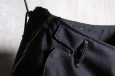 画像10: Linea_f by incarnation / インカネーション リネアエフ / MMXIX-6460W / WOOL CROPPED FLAT PANTS (10)