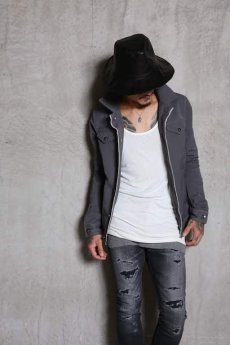画像17: Linea_f by incarnation / インカネーション リネアエフ / MMXIX-V-41250C SELVEDGE JEAN JACKET (17)