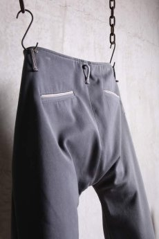 画像10: Linea_f by incarnation / インカネーション リネアエフ / MMXIX-6460C / SELVEDGE CROPPED FLAT PANTS (10)