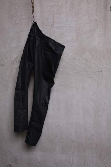 画像8: incarnation / インカネーション / 31981-6452 COTTON  ELASTANE DENIM LONG DARTS SARROUEL PANTS (8)