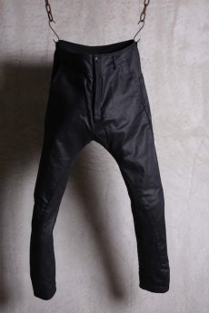 画像1: incarnation / インカネーション / 31981-6452 COTTON  ELASTANE DENIM LONG DARTS SARROUEL PANTS (1)
