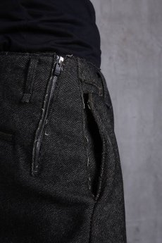 画像6: incarnation / インカネーション /  31976-6460 HEAVY WOOL FLAT PANTS (6)