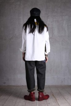 画像15: incarnation / インカネーション /  31976-6460 HEAVY WOOL FLAT PANTS (15)