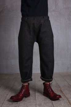 画像3: incarnation / インカネーション /  31976-6460 HEAVY WOOL FLAT PANTS (3)