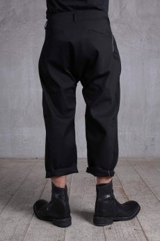 画像2: incarnation / インカネーション /  31971-6460 COTTON×ELASTANE FLAT PANTS (2)