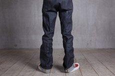 画像8: JUVENILE HALL ROLLCALL / ジュヴェナイルホールロールコール / 1324 / BONTAGE BOOTS CUT DENIM PANTS (8)