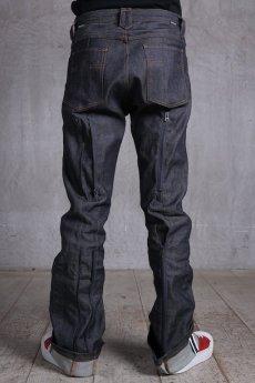 画像10: JUVENILE HALL ROLLCALL / ジュヴェナイルホールロールコール / 1324 / BONTAGE BOOTS CUT DENIM PANTS (10)