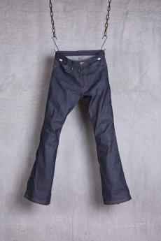画像1: JUVENILE HALL ROLLCALL / ジュヴェナイルホールロールコール / 1324 / BONTAGE BOOTS CUT DENIM PANTS (1)