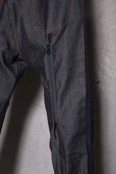 画像9: JUVENILE HALL ROLLCALL / ジュヴェナイルホールロールコール / 1324 / BONTAGE BOOTS CUT DENIM PANTS (9)