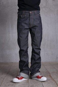 画像3: JUVENILE HALL ROLLCALL / ジュヴェナイルホールロールコール / 1324 / BONTAGE BOOTS CUT DENIM PANTS (3)