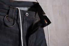 画像7: JUVENILE HALL ROLLCALL / ジュヴェナイルホールロールコール / 1324 / BONTAGE BOOTS CUT DENIM PANTS (7)