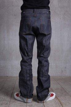 画像4: JUVENILE HALL ROLLCALL / ジュヴェナイルホールロールコール / 1324 / BONTAGE BOOTS CUT DENIM PANTS (4)