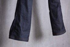 画像13: JUVENILE HALL ROLLCALL / ジュヴェナイルホールロールコール / 1324 / BONTAGE BOOTS CUT DENIM PANTS (13)