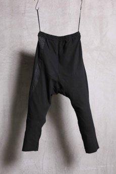 画像2: Nostra Santissima / ノストラ サンティッシマ / P16 Strech Jersey Sarrouel Pants (2)