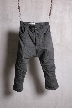 画像1: Nostra Santissima / ノストラ サンティッシマ / P04 Drop Clocth Denim Pants  (1)