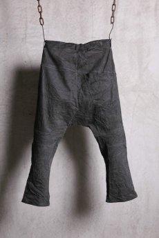 画像2: Nostra Santissima / ノストラ サンティッシマ / P04 Drop Clocth Denim Pants  (2)