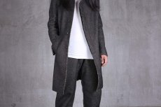 画像16: incarnation / インカネーション /  31976-5310  WOOL TWILL BIAS FRY FRONT W/POCKET COAT LINED (16)