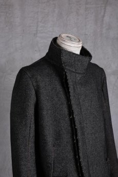 画像5: incarnation / インカネーション /  31976-5310  WOOL TWILL BIAS FRY FRONT W/POCKET COAT LINED (5)