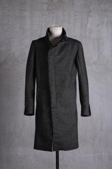 画像1: incarnation / インカネーション /  31976-5310  WOOL TWILL BIAS FRY FRONT W/POCKET COAT LINED (1)