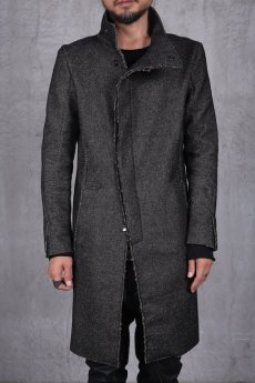 画像3: incarnation / インカネーション /  31976-5310  WOOL TWILL BIAS FRY FRONT W/POCKET COAT LINED (3)