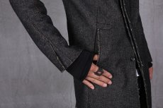 画像7: incarnation / インカネーション /  31976-5310  WOOL TWILL BIAS FRY FRONT W/POCKET COAT LINED (7)