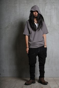 画像15: incarnation / インカネーション / 32085-3400 / CUT & SAWN CUT HOODED RAGLAN #2 SHORT SLEEVE (15)