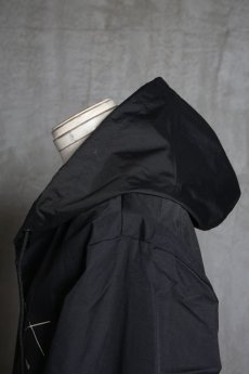 "画像13: Old GT / WR-7308 '' DARK BLACK OIL "" / RAIN STOPPER NYLON HOOD JKT (13)"