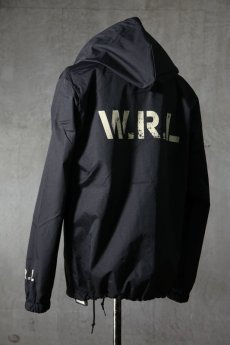 "画像7: Old GT / WR-7308 '' DARK BLACK OIL "" / RAIN STOPPER NYLON HOOD JKT (7)"