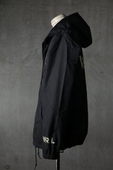 "画像4: Old GT / WR-7308 '' DARK BLACK OIL "" / RAIN STOPPER NYLON HOOD JKT (4)"