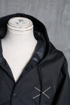 "画像9: Old GT / WR-7308 '' DARK BLACK OIL "" / RAIN STOPPER NYLON HOOD JKT (9)"