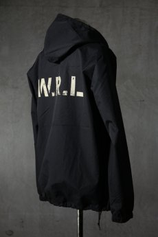 "画像6: Old GT / WR-7308 '' DARK BLACK OIL "" / RAIN STOPPER NYLON HOOD JKT (6)"