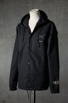 "画像2: Old GT / WR-7308 '' DARK BLACK OIL "" / RAIN STOPPER NYLON HOOD JKT (2)"