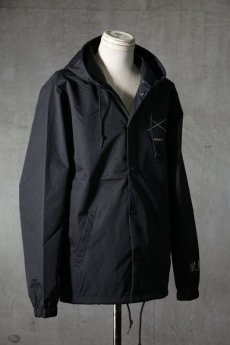 "画像3: Old GT / WR-7308 '' DARK BLACK OIL "" / RAIN STOPPER NYLON HOOD JKT (3)"