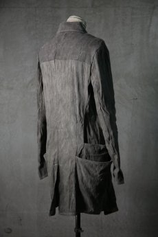 画像7: incarnation / インカネーション / 32072-5322 / ZIP FRONT W/POKET COAT UNLINED (7)
