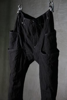 画像4: incarnation / インカネーション / 32071-6472WF / W-PKT W-SNAT PACK PANTS(Garage eden exclusive model)  (4)