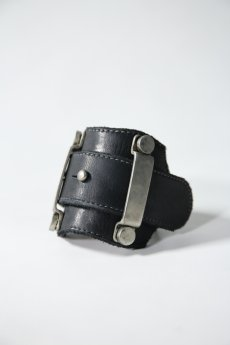画像17: incarnation / インカネーション / 32014-8917 / CALF LEATHER BRACELET METAL LOOP (17)