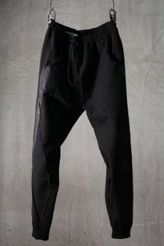 画像1: NostraSantissima / ノストラ サンティッシマ / P17 / MIDDLE WEIGHT SWEAT PANTS (1)